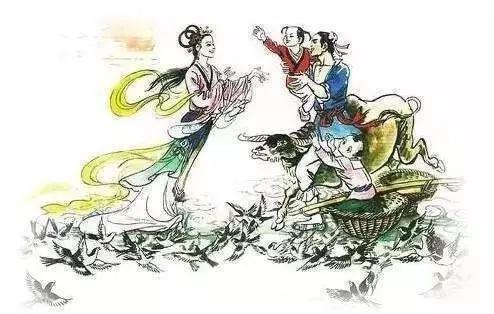 牛郎织女的传说也是在太仓
