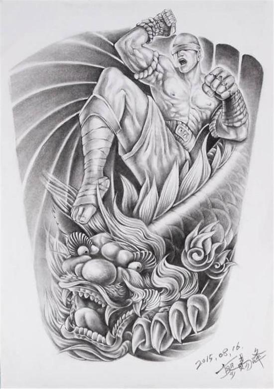 有的人就是纯粹的喜欢,有的人是希望纪念一些东西,比如之前为小智纹身图片