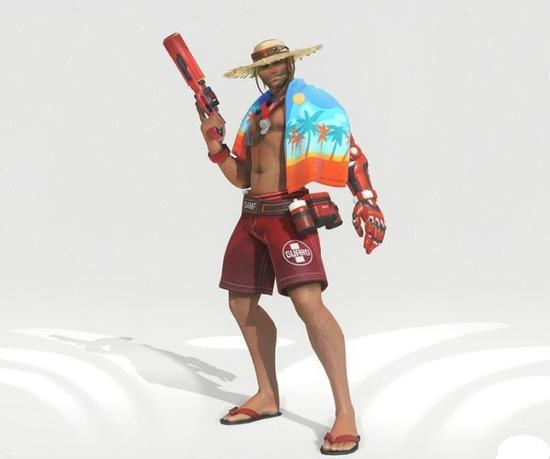 麦克雷新橙皮:沙滩游侠
