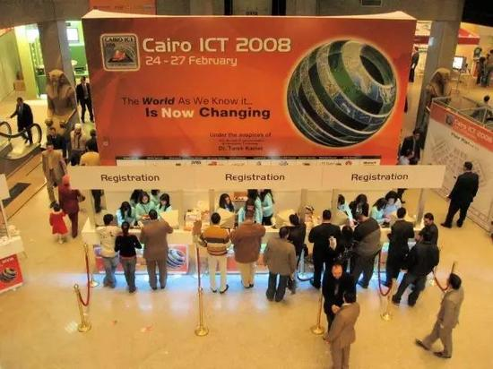 ICT在埃及已经举办了多年