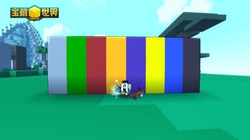 2、制造方块: