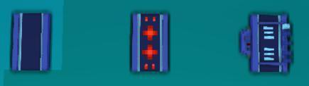 对磁轨速度变更装置按E可调整整条轨道的限制速度,共有5种速度可选,范例如下: