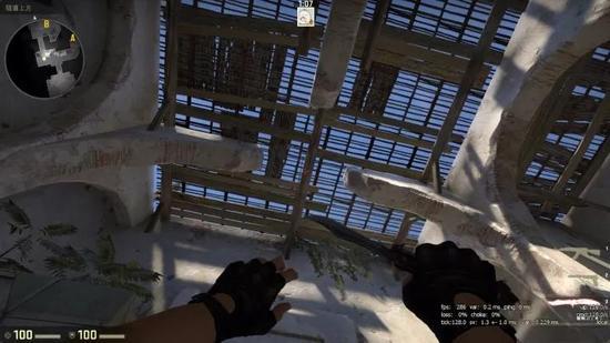 B洞房顶依旧无法投掷道具