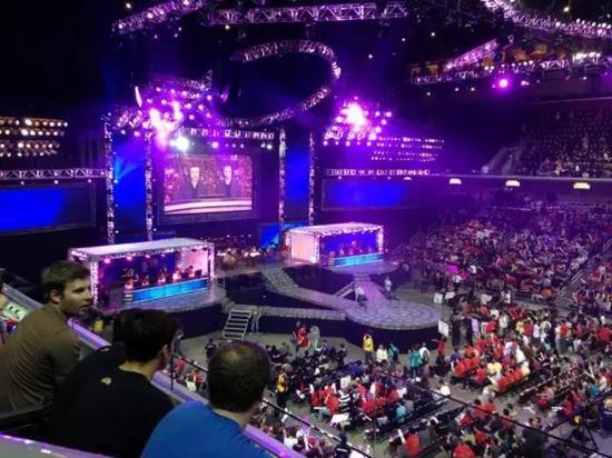 Galen Center——一座能够容纳一万观众的篮球场