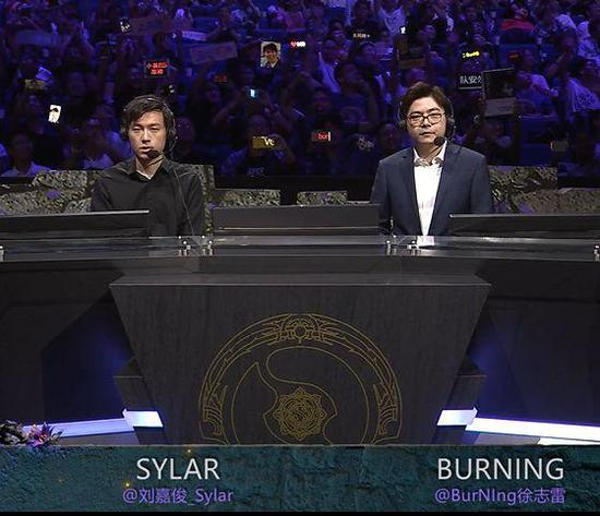 Sylar刘嘉俊(左)BurNing徐志雷(右)
