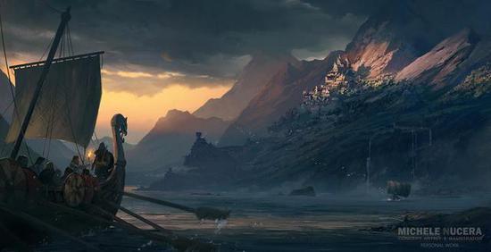好玩的单机游戏《刺客信条》和《战神4》都是北欧背景但二者却有着很大的不同