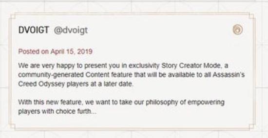 当然,一切消息还应以育碧官方发布的消息为准。