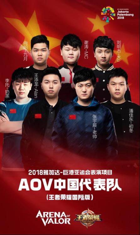 王者荣耀亚运会名单 触手签约选手Alan、Ku入选