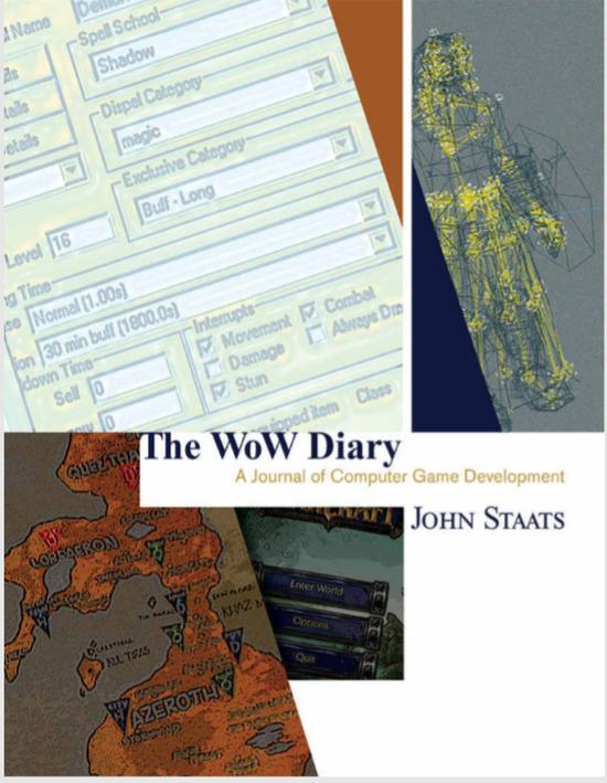 经典旧世60级版本 开发人员回忆录《魔兽日记》