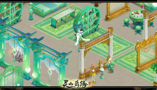 《【煜星品牌】《灵山奇缘》休憩好去处 九游会家园系统平台玩法多》