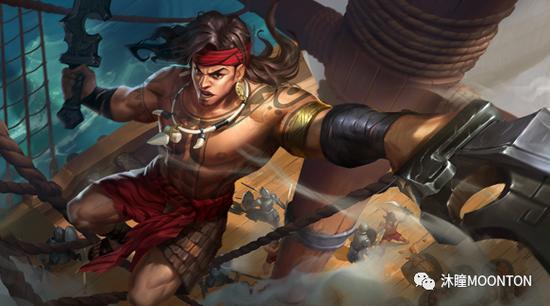 游戏人物拉普拉普(菲律宾民族英雄)