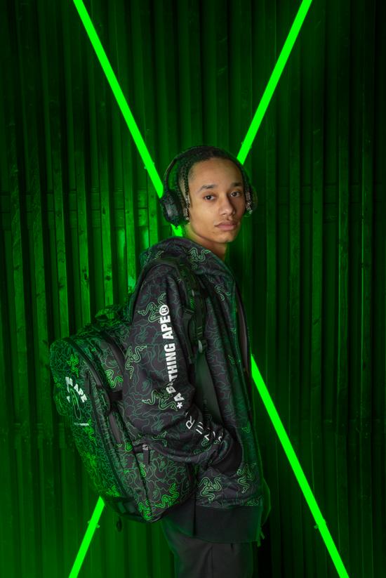 """《【煜星公司】电竞""""猿年""""!Razer X BAPE 限定款服饰和外设系列现已正式开售!》"""