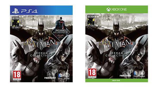 主机版《蝙蝠侠:阿卡姆合集》实锤 仅限欧洲发售