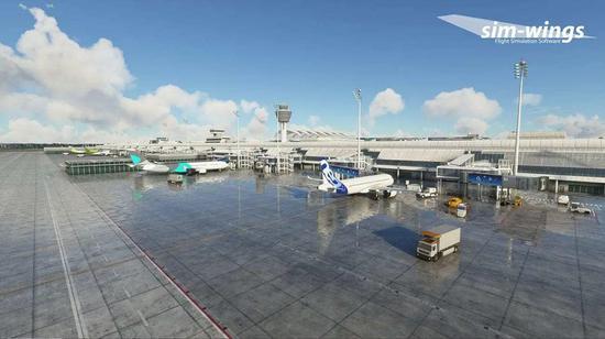 《微软飞行模拟》更新慕尼黑机场插件包
