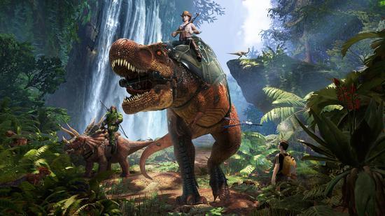 恐龙坐骑图