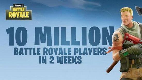 2周突破1000万用户的纪念海报