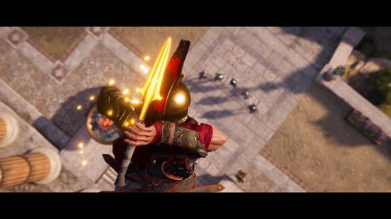 列奥尼达斯的长矛、长矛变成断刃后传承主角