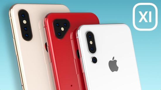 ▲ 2019 年 iPhone 的渲染假想图 图片来自:YouTube