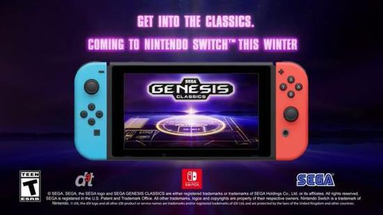 《世嘉创世经典游戏合集》将于今年冬季登陆Switch,将发行实体卡带及数字版。