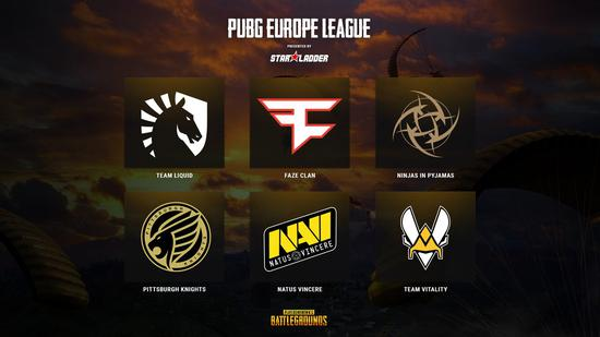 PUBG欧洲职业联赛2019年1月打响 FaZe等强队被直邀