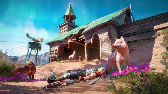 游戏中的动物,植物都拥有更艳丽的外表