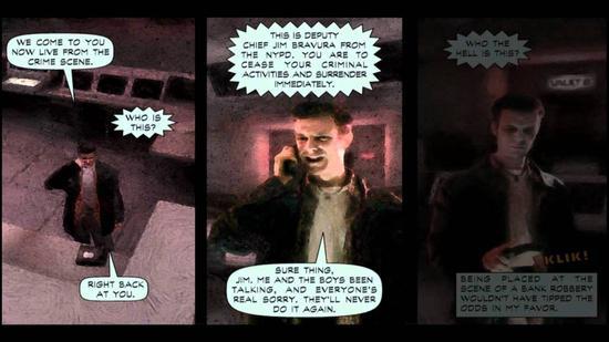 《马克思·佩恩》中的漫画过场