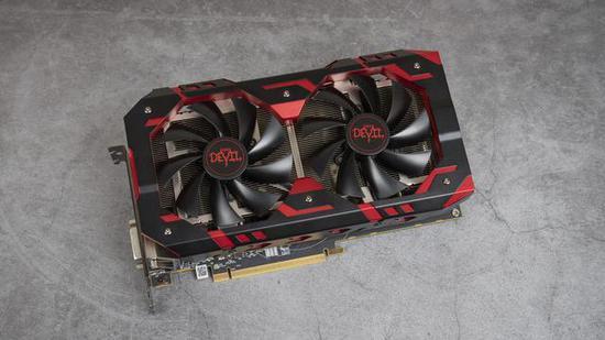迪兰DEVIL恶魔 RX 590 8GB,核心频率为1576MHz,显存频率为2000MHz。