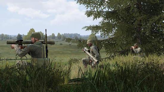"""《武装突袭3》是一款的战术动作游戏,新DLC名为""""全球动员—德军冷战"""""""