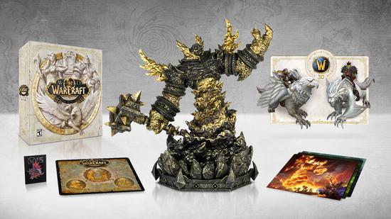 精彩无限 预购魔兽世界十五周年收藏家限定礼盒