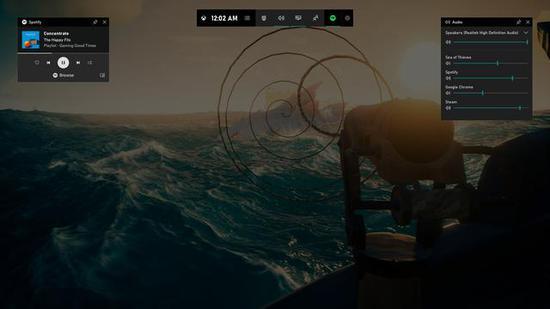 Win10系统游戏功能更新 推出多功能覆盖层界面