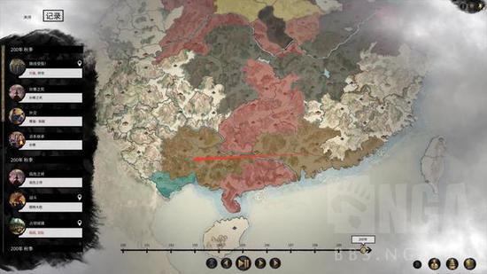 《全面战争:三国》刘玄德下海流