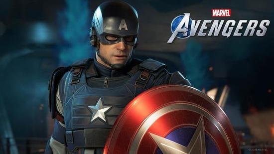 电影中由Steve Rogers扮演的美国队长在游戏中带上面具后还有些那么类似,但。。