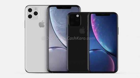 新款iPhoneXS系列升级版外形渲染图