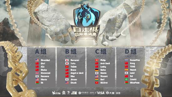 多多自走棋国际邀请赛决赛32位选手分组公布!