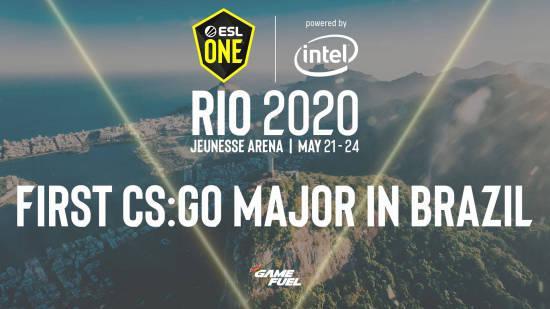 ESL One将首次在巴西里约热内卢举办CS:GO Major