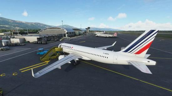 《微软飞行模拟》更新巴斯蒂亚机场插件包