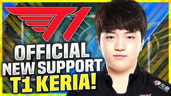 英雄联盟 Keria:Faker这样的选手令人敬佩,希望能打破他的纪录