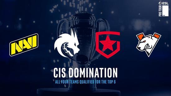 CIS崛起 IEM卡托维兹淘汰赛队伍名单确定