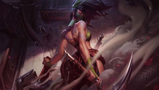 英雄联盟测试服英雄回调更新:阿卡丽、蛇女加强
