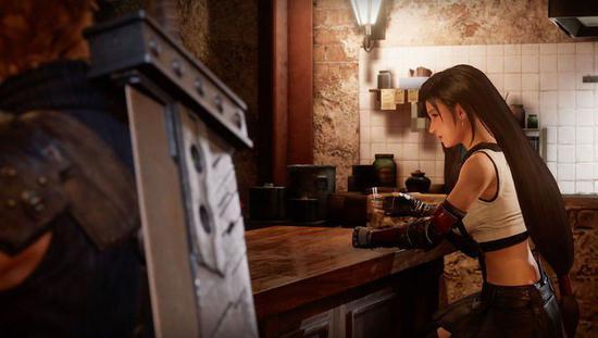 ▲《最终幻想 7 重置版》