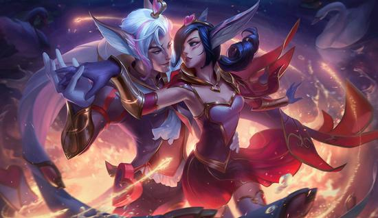 《英雄联盟》手游游戏将升级多名英雄人物 爱羽情翼甜美出场