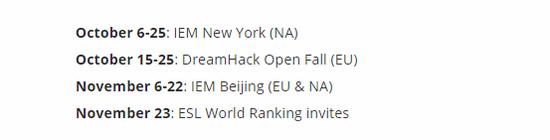 《【煜星平台网站】空前盛事 ESL公布IEM全球挑战赛名额情况》