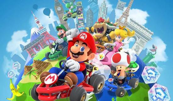 《马里奥赛车巡回赛》首月下载量达到1.24亿,创任天堂手游新纪录