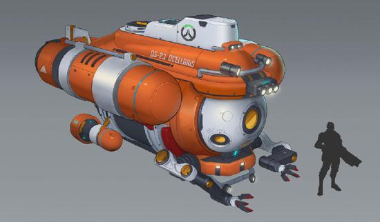 【天龙扑克】潜艇基地设计师入职暴雪,以后会有水下地图吗?