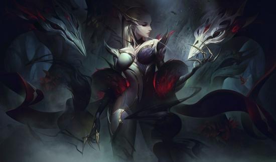 【蜗牛电竞】《英雄联盟》新皮肤建模图赏 魔女们身材真火辣