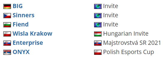 【博狗扑克】匈牙利线下赛 BIG确认参加V4未来电竞节