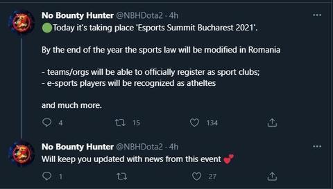 【蜗牛电竞】罗马尼亚承认电竞 将给选手运动员官方认证