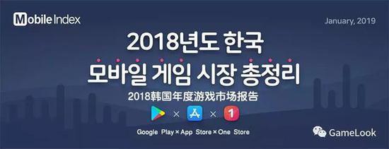 2018年韩国手游市场规模收入36.5亿美元同比增长4.1%