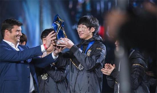 Ning的出色表现赢下了MVP