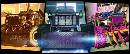 《侠盗猎车OL》全新DLC发布 疯狂竞技场之战开启